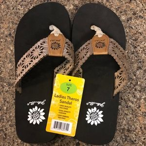 Yellow Box Theros Flip Flop Sandal